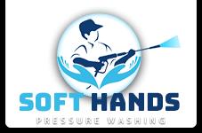 Soft Hands Pressure Washing Logo